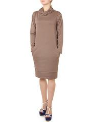 P082-67 платье платье женское, бежевое