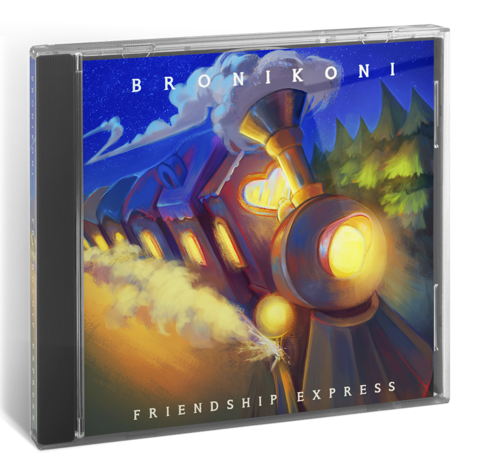 Альбом BroniKoni - Friendship Express (CD)