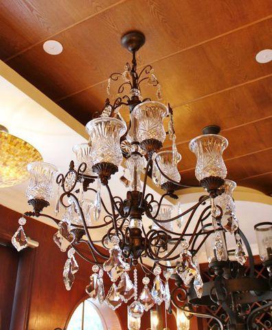 vintage chandelier  40-01  ( by Funky Vintage )
