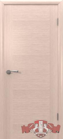Дверь Владимирская фабрика дверей 8ДГ5, цвет беленый дуб, глухая