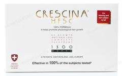 Комплекс - Лосьон для стимуляции роста волос для женщин №10 + Лосьон против выпадения волос №10, 1300  (Labo | Crescina Re-Growth HFSC 100% + Crescina Anti-Hair Loss HSSC 1300), 10 х 3,5 мл + 10 х 3,5 мл