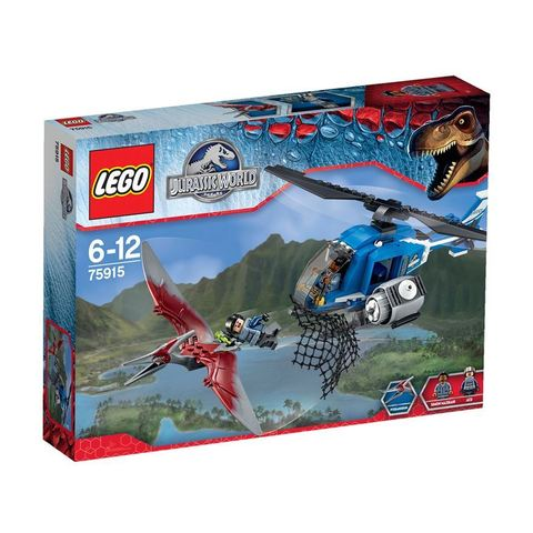 LEGO Jurassic World: Захват птеранодона 75915 — Pteranodon Capture — Лего Мир Юрского периода
