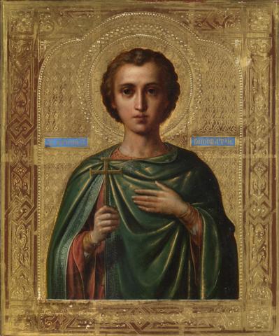Икона святой Вонифатий на дереве на левкасе мастерская Иконный Дом
