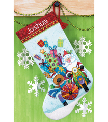 DIMENSIONS Santa s Sidecar Stocking