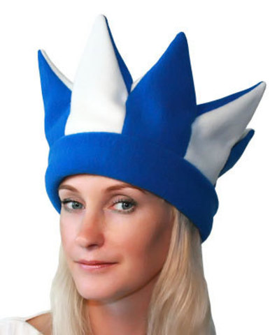 шапка Скоморох синий