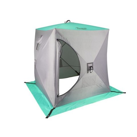 Палатка зимняя КУБ 1,8х1,8 (biruza/grey) PREMIER