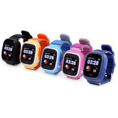 Детские часы с GPS-трекером Smart Baby Watch Q80