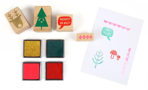 Набор праздничных печатей