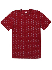 4150-1 футболка мужская, бордовая