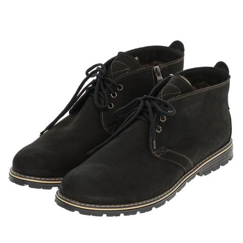 565483 ботинки мужские черные. КупиРазмер — обувь больших размеров марки Делфино