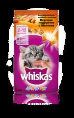 Whiskas для котят подушечки с молоком, индейкой и морковью 350 г
