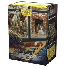 Dragon Shield - Протекторы Christmas Dragon 100 штук