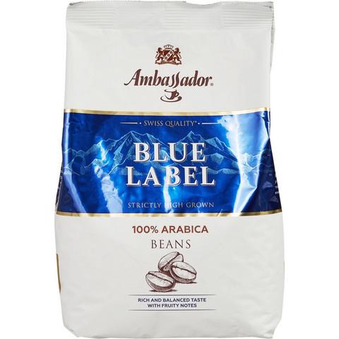 Кофе Ambassador Blue Label в зернах, 1кг