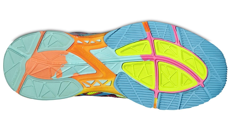 Женские кроссовки для бега Asics GEL-Noosa TRI 10 (T580N 0739) multi фото
