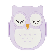 Ланчбокс Owl Purple