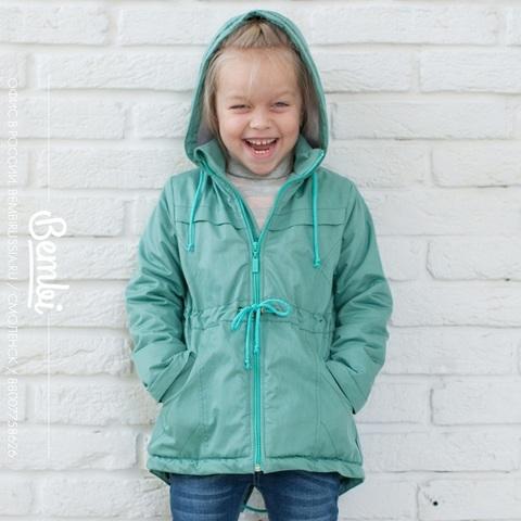 КТ150 Куртка для девочки утепленная