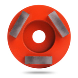 Алмазная шлифовальная фреза Messer тип M 25/30 для средней шлифовки (3 сегмента)