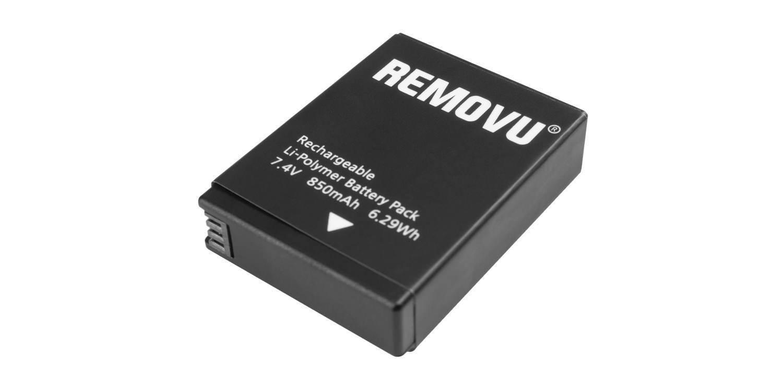 Литий-полимерный аккумулятор для стабилизатора REMOVU S1 вид сверху