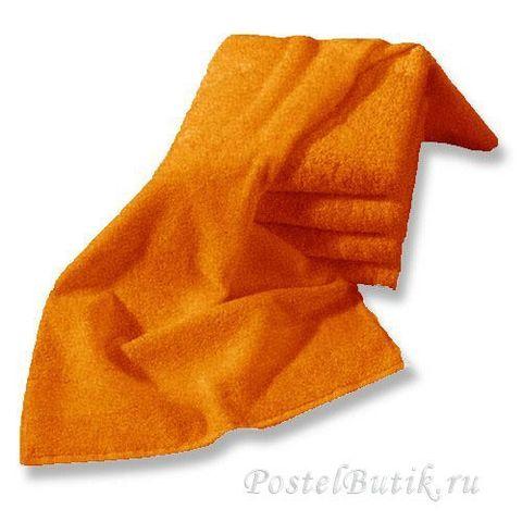 Полотенце 60х110 Mirabello Microcotton оранжевое
