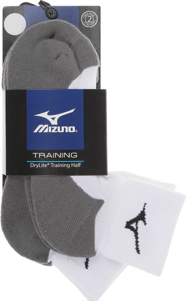 Спортивные носки Mizuno 2PPK Training Sock (67XUU0201 01) короткие