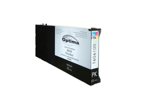 Картридж Optima для Epson 4900 C13T653100 Photo Black 200 мл