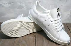 Белые кроссовки для девушек Stan Smith White-R A14w15wg