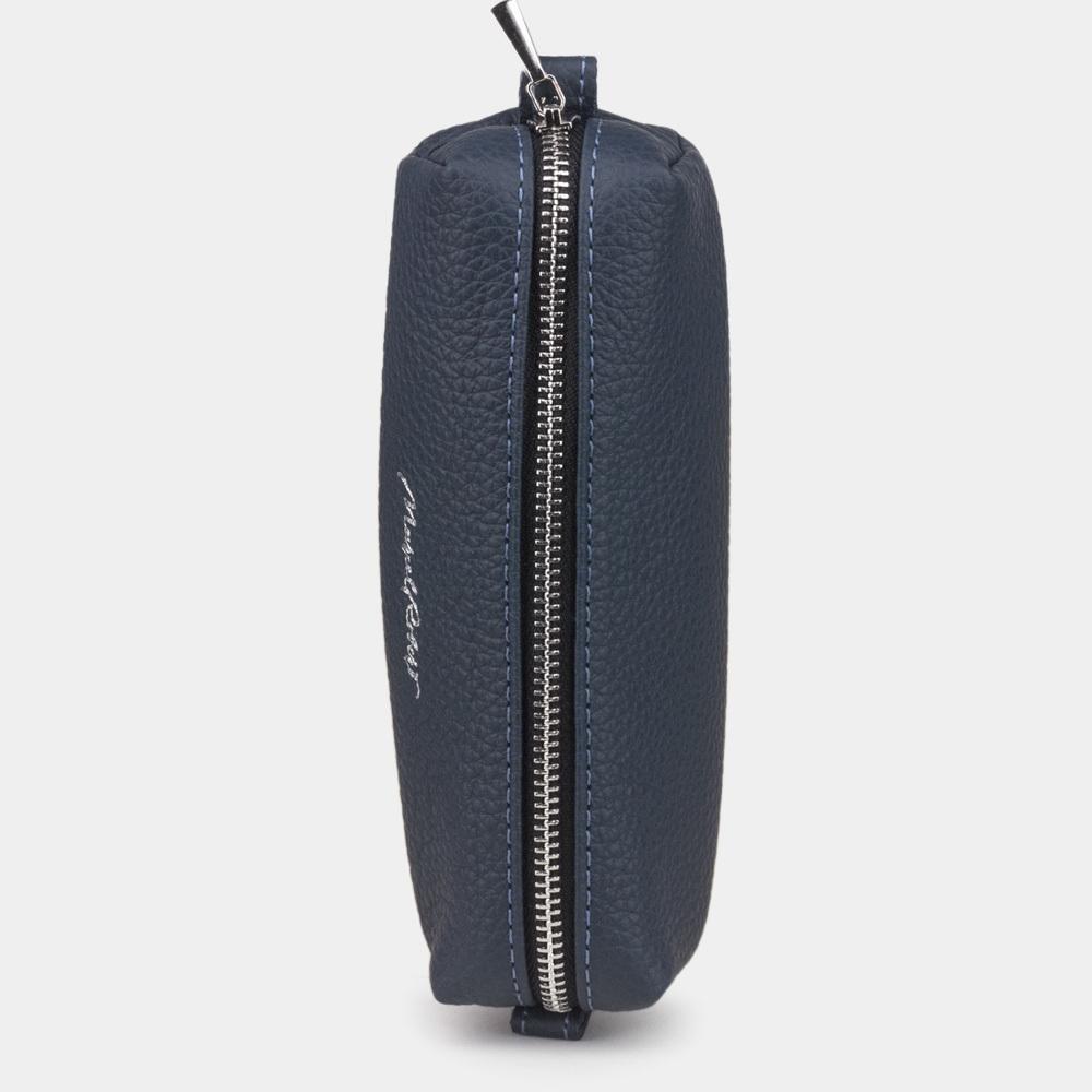 Ключница Cofre Easy из натуральной кожи теленка, цвета синий мат