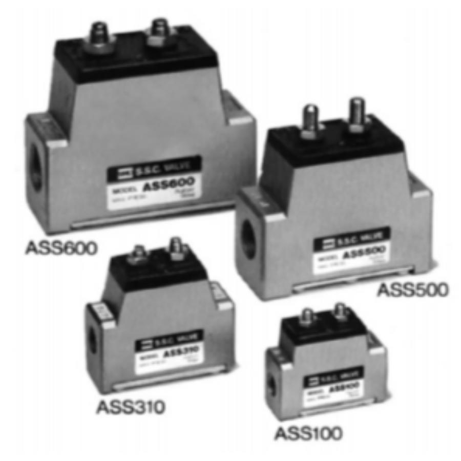ASS600-10  Клапан плавного запуска, 1'