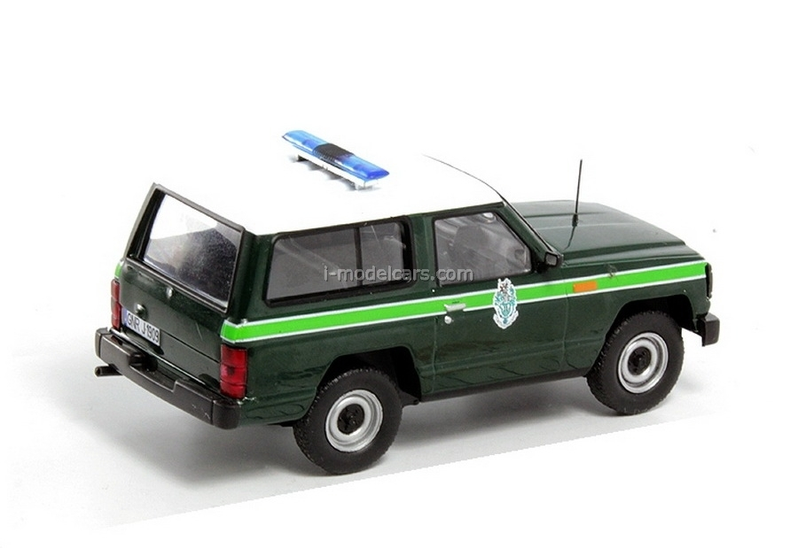 Nissan Patrol 1985 Portugal 1:43 DeAgostini World's Police Car #54