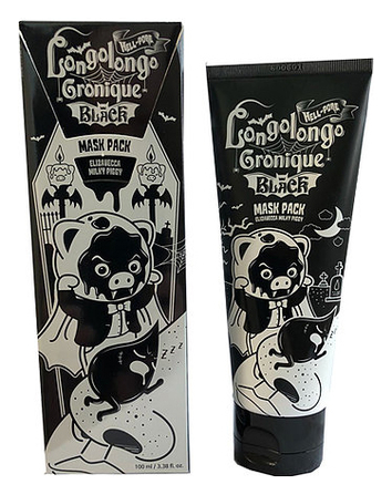 Маска-плёнка Elizavecca Hell-Pore Longolongo Gronique Black Mask Pack