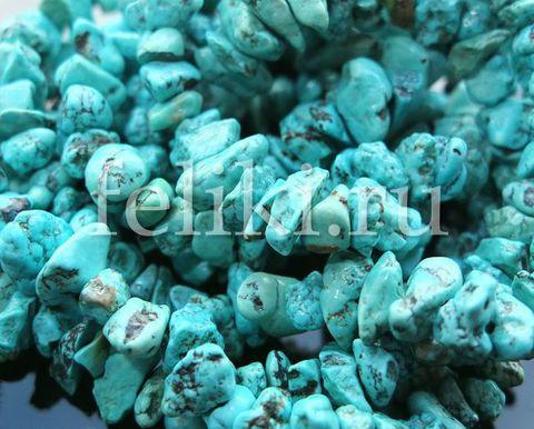 бусы из бирюзы (н-0950-90)