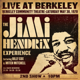 The Jimi Hendrix Experience / Live At Berkeley (2LP)