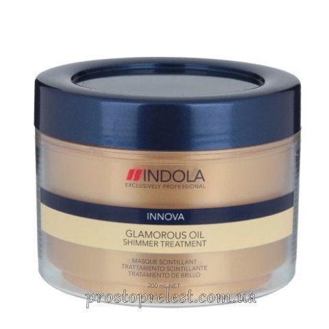 Indola Innova Glamorous Oil Shimmer Treatment - Маска для гладкости и блеска