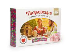 Павловские зефирные колечки со вкусом ягодного ассорти, 140г
