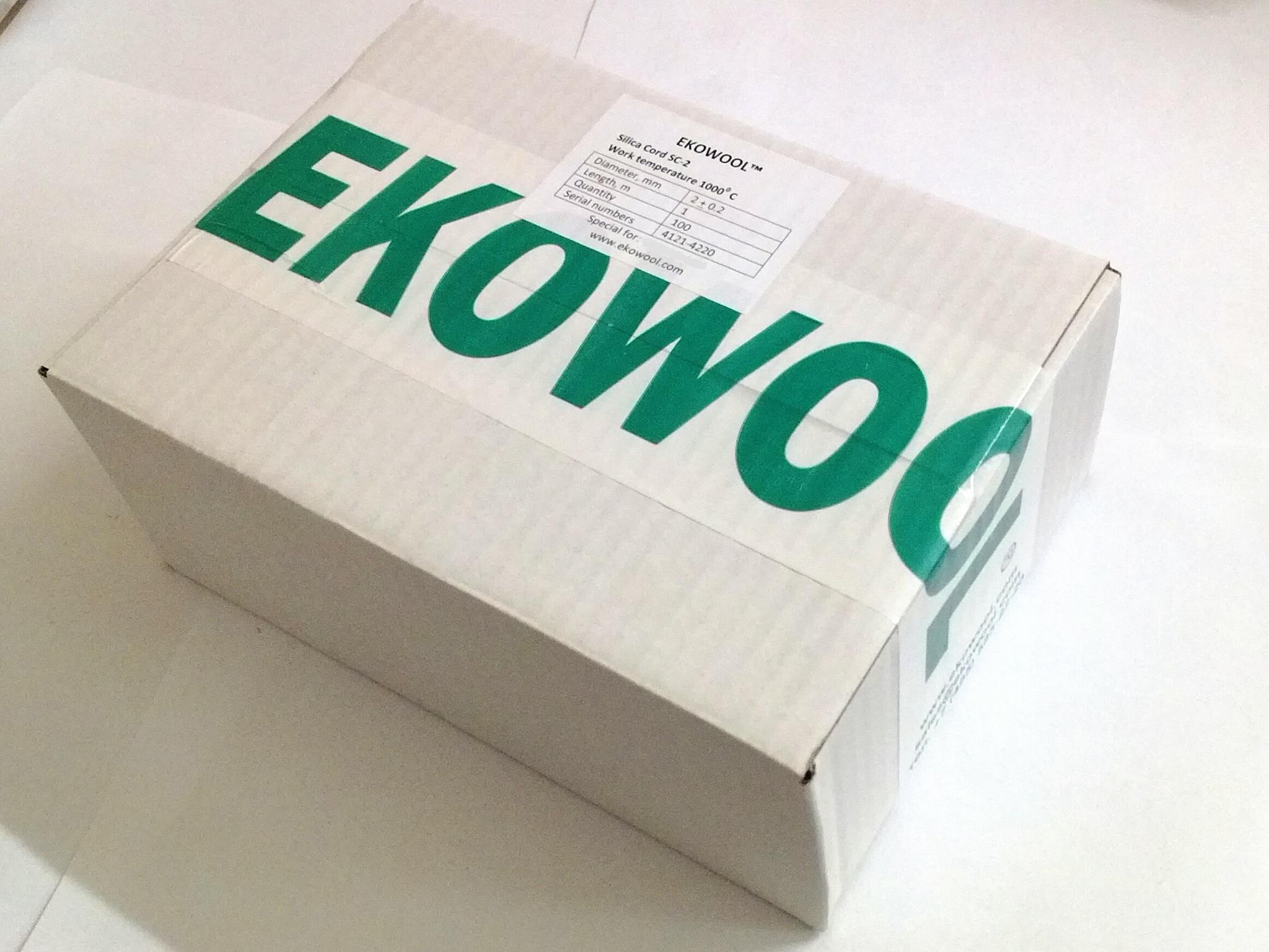 Кремнеземный шнур ЭКОВУЛ (EKOWOOL)
