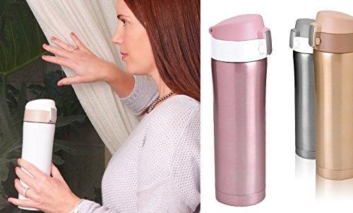 Термокружка Asobu Diva cup (0,45 литра) розовая