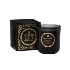 Ароматическая свеча Voluspa Вербена и оливковые листья в подарочной упаковке