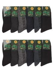 6799-1 BOYI носки мужские, цветные 42-48 (12шт.)