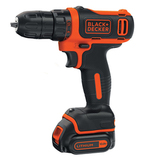 Шуруповерт Black&Decker BDCDD12KB (10,8В, 26Нм)