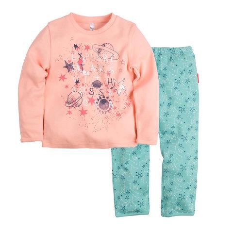 Детская пижама Bossa Nova с длинными руковами для девочки