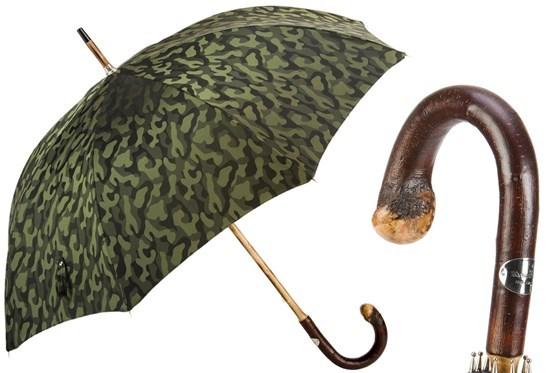 Зонт-трость Pasotti Bespoke Camouflage, Италия (арт.142 11780-254 CBR).