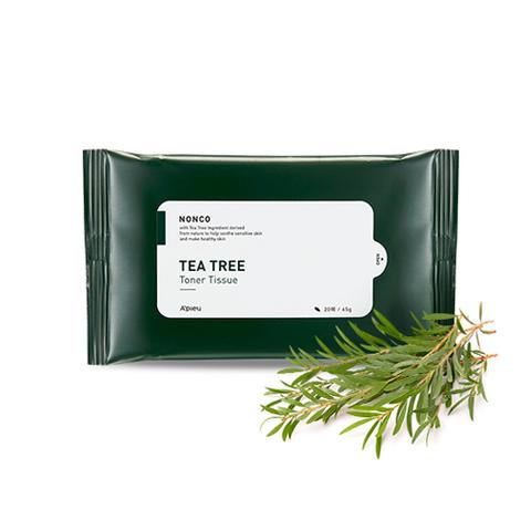 Тонер A'PIEU Nonco Tea Tree Toner Tissue 20 шт.