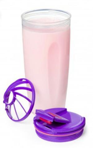 Шейкер To-go Sistema фиолетовый 700 мл