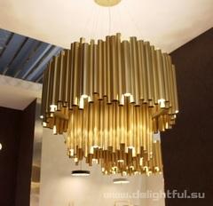 реплика Люстра Brubeck 2 levels by Delightfull ( gold )