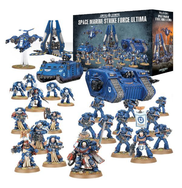 Space Marine Strike Force Ultima. Все миниатюры