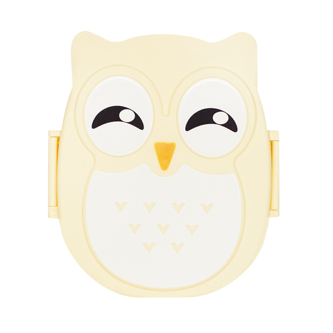 Ланчбокс Owl Yellow