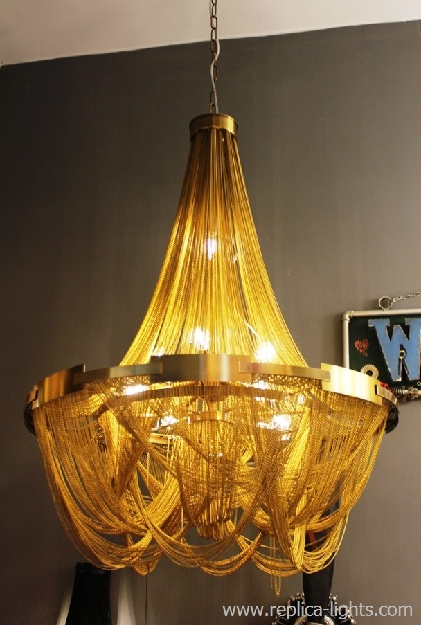 Chandelier Soscik By Terzani 80 Cm Gold 1 Buy In
