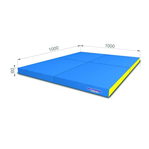 """Мягкий щит """"ROMANA/Pro"""" (1000x1000x100 мм), в 4 сложения Мягкий щит """"ROMANA/Pro"""" (1000x1000x60 мм), в 4 сложения"""