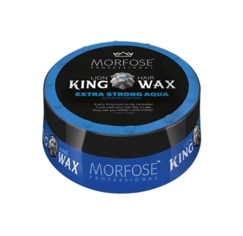 Morfose King Hair Wax Воск для волос Королевский Extra Strong Aqua 175мл