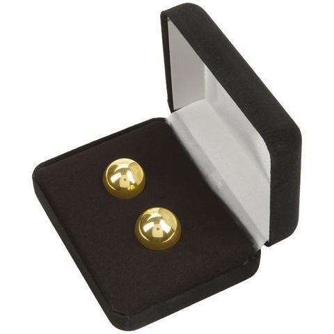 Тяжелые вагинальные шарики металлические Ben Wa Balls (1,5 см.; вес 2 х 25 гр)